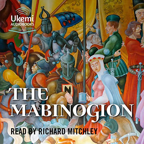 The Mabinogion audiobook cover art