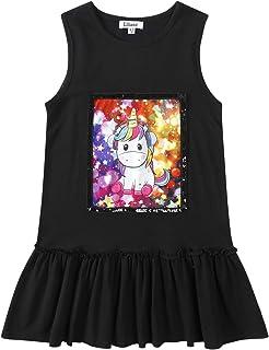 1a5768fd3 Liliane Girls Unicorn Dresses Summer