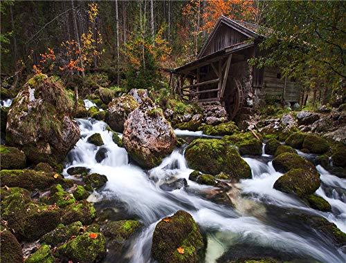 YHKTYV Stenström i bergen pussel för vuxna 1500 delar pedagogiskt intellektuellt roligt pussel för vuxna barn tonåringar