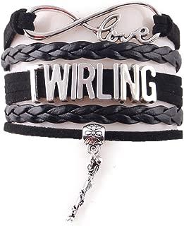 baton twirling jewelry