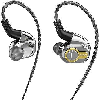 $49 » Sponsored Ad - HiFiHear BLON BL 05 in Ear Earphone,10mm Carbon Diaphragm Dynamic Drive Bass HiFi DJ in Ear Monitor, Metal ...
