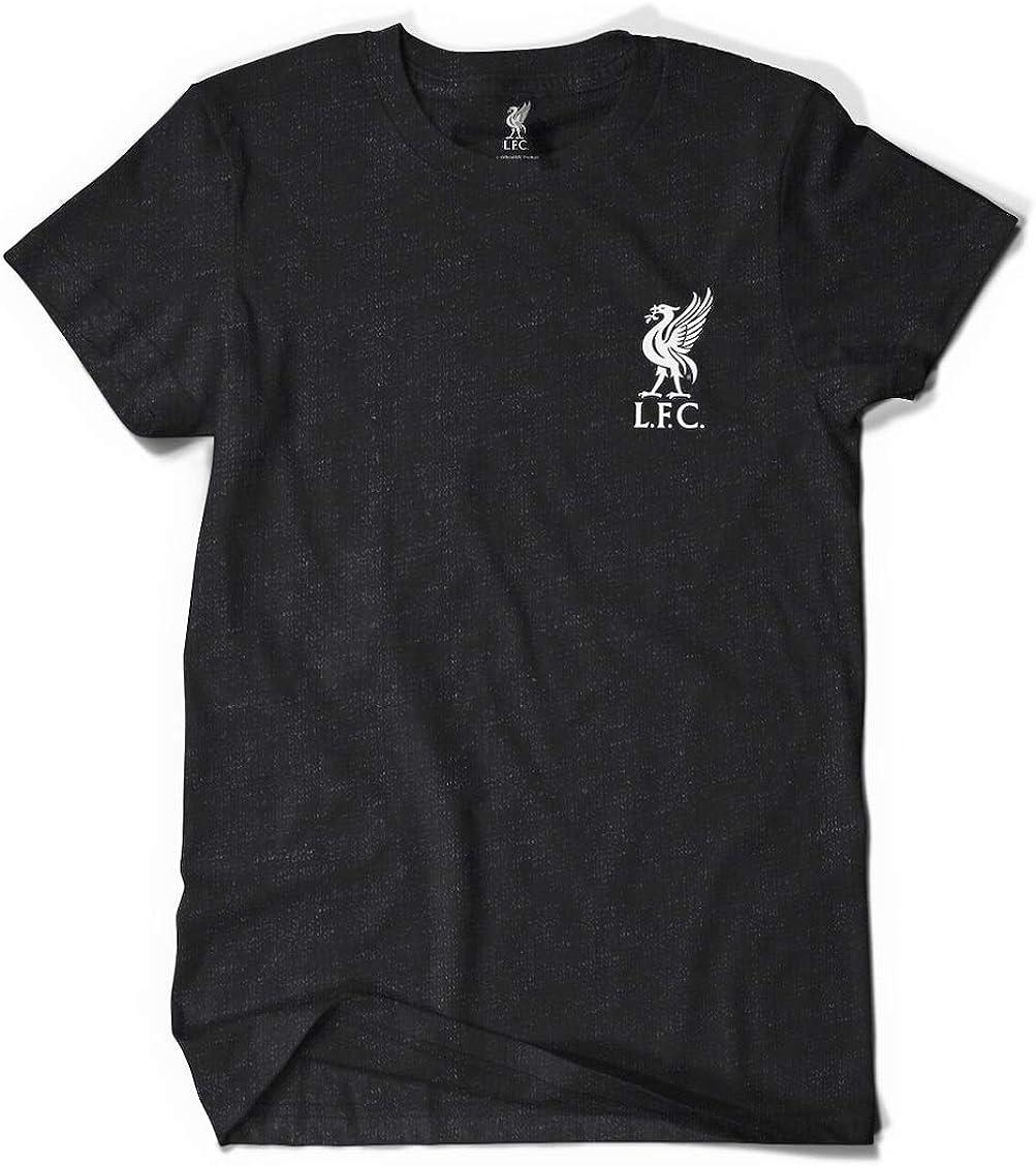 futurepost.co.nz Liverpool FC Official Black Classic T-Shirt ...