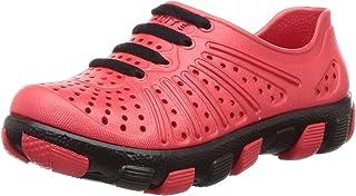 FLITE Unisex-Kid's Red Black Clogs-24 Months (25.5 EU) (FL0K55C_RDBK0008)