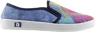 Almira 133 Günlük Keten Bayan Ayakkabı Mavi