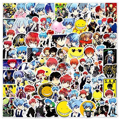 XIAMU Anime Assination Classroom Graffiti Decal Lever Box Notebook Skateboard Sticker 100 piezas