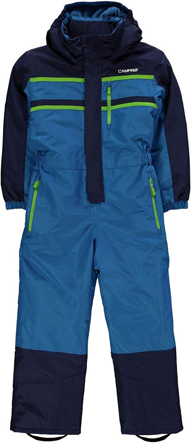 Campri Boys Ski Suit Junior blueee Navy All in One Snow Outerwear