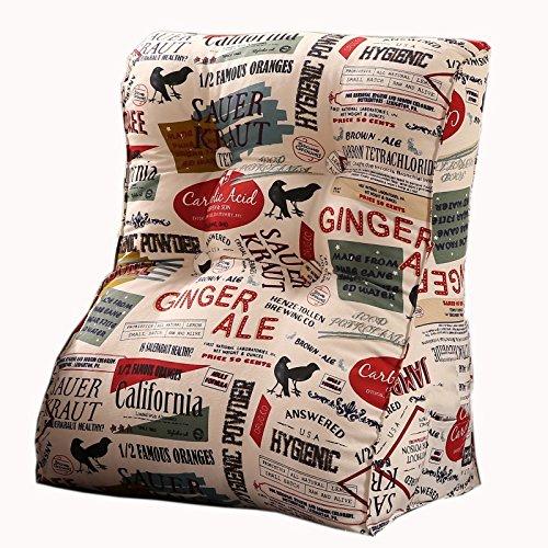 Dossier De Chevet Simple Triangle Canapé Coussin Siège de la chaise Coussin utile populaire ralentissement Rebond Design ergonomique Dossier confortable 45 * 55cm / 55 * 60cm (taille : 45 * 55cm)