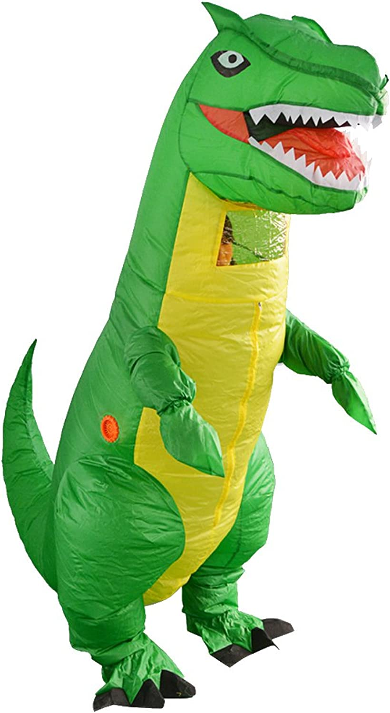 Homyl Grün Dinosaur Kostüm Aufblasbares Anzug Luft Kostüm für Erwachsene Größe zum Cosplay Karneval und Halloween B07F24D8S3 Öffnen Sie das Interesse und die Innovation Ihres Kindes, aber auch die Unschuld von Kindern, kindl