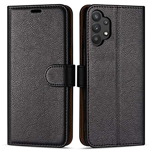 Hülle Collection Hochwertige Leder hülle für Samsung Galaxy A32 5G Hülle (6,5