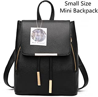 df49653c32cd WINK KANGAROO Fashion Shoulder Bag Rucksack PU Leather Women Girls Ladies  Backpack Travel bag