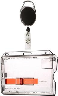 Waizmann.IDeaS® 1 x zestaw etui na identyfikator, jojo jojo, owalne + etui na karty z wysuwką, etui na karty, etui poziom...