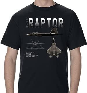 Future of Flight F-22 Raptor Schematic Design T-Shirt