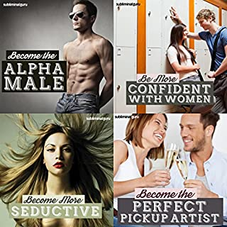 Perfect Pickup Artists Subliminal Messages Bundle     Become the Ultimate Woman Magnet with Subliminal Messages               By:                                                                                                                                 Subliminal Guru                               Narrated by:                                                                                                                                 Subliminal Guru                      Length: 4 hrs and 40 mins     2 ratings     Overall 1.5
