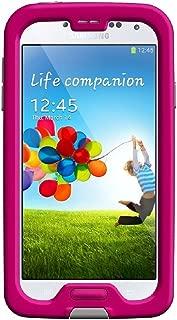 LifeProof FRĒ Samsung Galaxy S4 Waterproof Case - Retail Packaging - MAGENTA/GREY