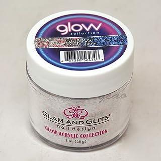 Glam and Glits ACRYLIC Glow in the Dark Nail Powder - Stardust 2040