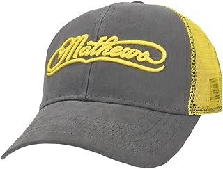 Archery Yellow Mesh Cap