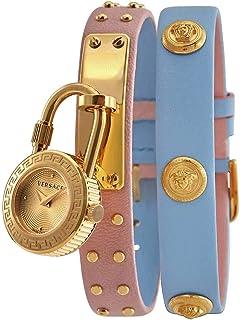 Medusa Lock Icon Quartz Gold Dial Ladies Watch VEDW00219