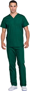 CHEROKEE Unisex Scrub Top and Scrub Pant Set