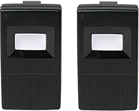 2 Linear Delta 3 DT 1-Channel Visor Gate//Garage Door Transmitter DNT00002A