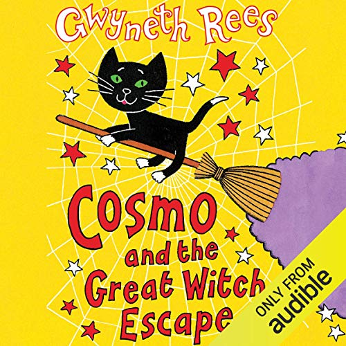 Cosmo and the Great Witch Escape audiobook cover art