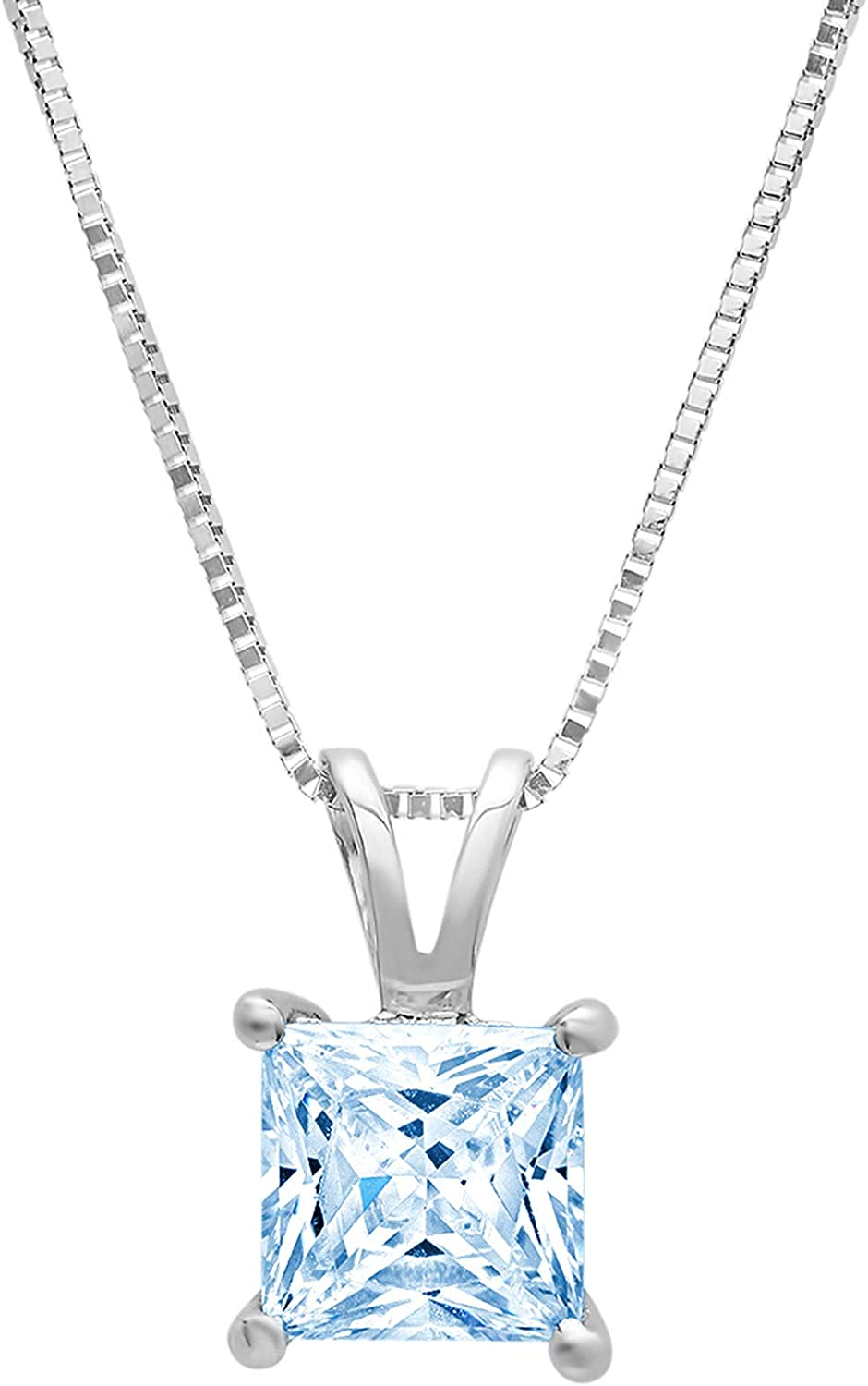 Clara Gorgeous Pucci 1.1 ct Don't miss the campaign Brilliant Princess Stunning Flawl Cut Genuine