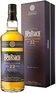 Benriach 22 Years Old PEATED Second Edition DUNDER mit Geschenkverpackung Whisky 1 x 0.7 l
