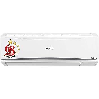 Sanyo 1 Ton 3 Star Inverter Split AC (Copper SI/SO-10T3SCIA White)