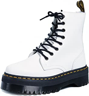 Dr. Martens 15265001 Jadon Polished Smooth, Scarpe Stringate Basse Brogue Uomo