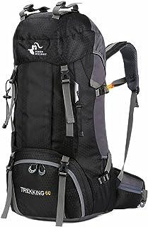 Lwieui El Alpinismo al Aire Bolsa Equipaje Mochila de Aire Suave Especial Mochila de Moda en la Mochila Ligera Mochila de Alpinismo Trekking Mochilas (Color : Black)