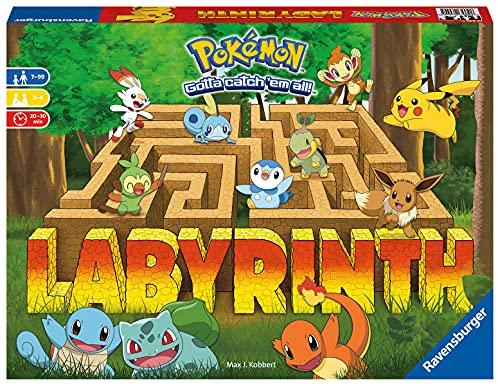 Ravensburger – Le Grand Classique des Jeux de société – Labyrinthe Pokémon – pour Enfant et Famille – De 2 à 4 Joueurs à partir de 7 Ans – Mixte – 26949 (Multilingue – Français Inclus)