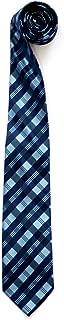 Retreez Tartan Plaid Patterns Woven Microfiber Men's Tie Necktie - 10 Colors