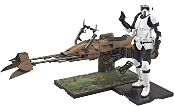 Bandai Hobby Star Wars 1/12 Scout Trooper & Speeder Bike Star Wars