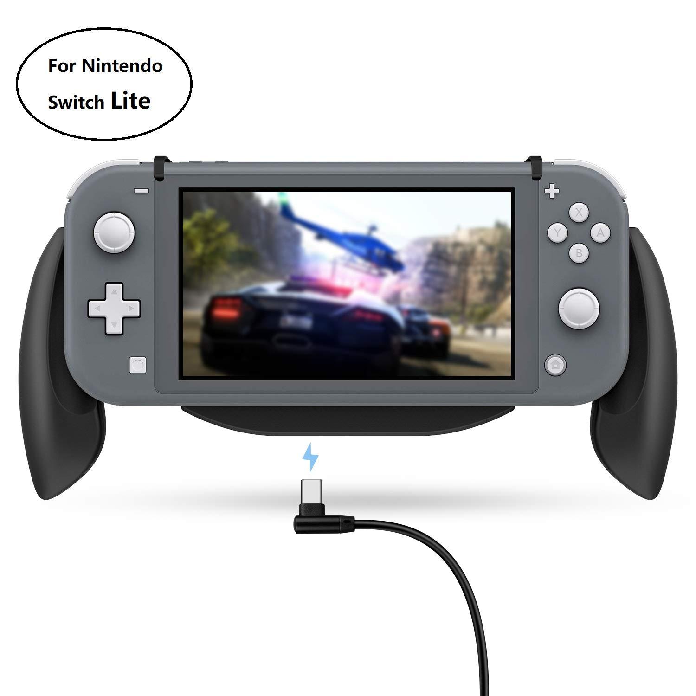 Lammcou Switch Lite soporte para Nintendo Switch Lite soporte de mango soporte de mango con caja de almacenamiento de juegos para juegos de interruptor Splatoon FIFA Yoshis: Amazon.es: Videojuegos