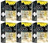 OLIA Set 6 OLIA 110 biondo chiarissimo naturale intenso - coloranti capelli