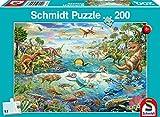Schmidt Spiele- Découvrez Non Découvre Les Dinosaures, 200 pcs, 56253