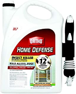 Ortho 0221710 Home Defense Insect Killer Pull 'n Spray 1.33GAL, Clear