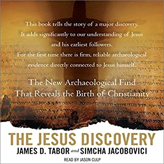 The Jesus Discovery audiobook cover art