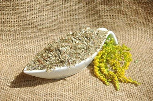 Naturix24 – Goldrutenkraut geschnitten – 1 Kg Beutel