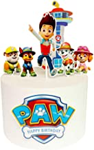 Paw Patrol Cake Topper Set Dog Themed Birthday Party Supplies