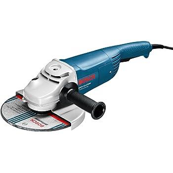Bosch Professional Meuleuse Angulaire GWS 22–230 (2200 W, 230V, Régime à vide : 6 500tr/min, pack d'accessoires, coffret)