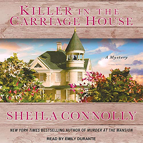 Killer in the Carriage House audiobook cover art
