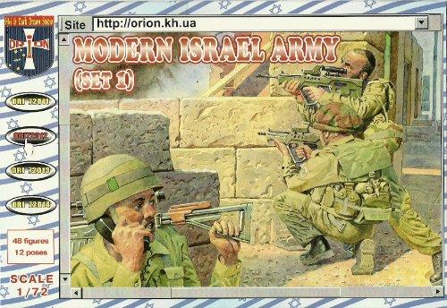 Orion ori72012 – Moderne Israël Army, Set 1, Plastique de modèle