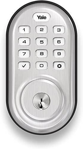 Yale Assure Lock with Z-Wave - Smart Keypad Deadbolt - Works with Ring Alarm, Samsung SmartThings, Wink and More (Hub...