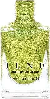 ILNP Short Circuit - Radiant Yellow-Green Ultra Metallic Bright Nail Polish