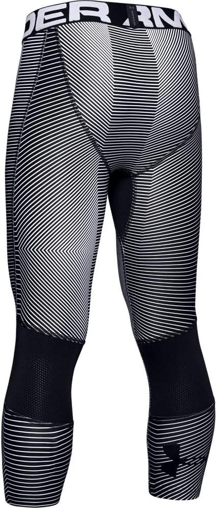 Under Armour Boys HeatGear Armour 3//4 Printed Leggings Ankle Legging