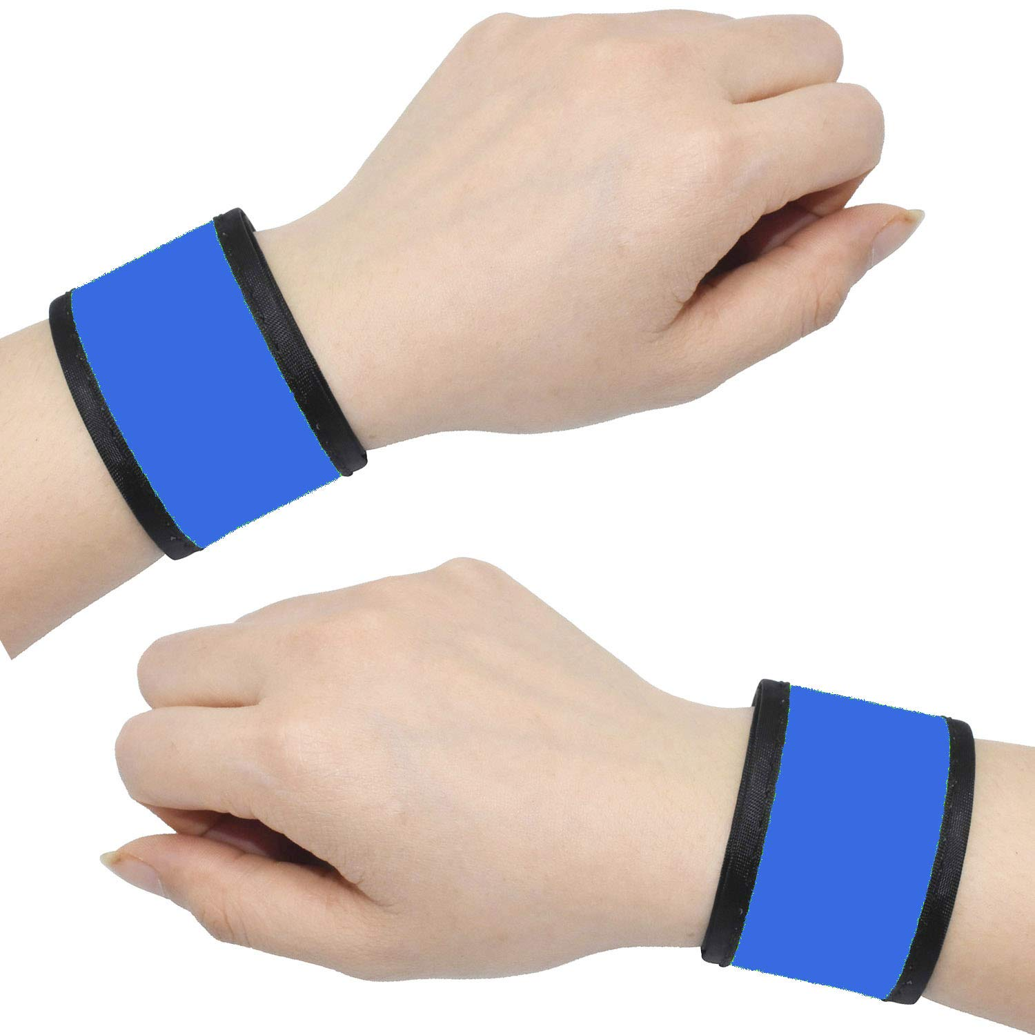 High Visibility Glow in The Dark Waterproof LED Sport Wristband