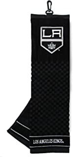 """Team Golf unisex-adult NHL Los Angeles Kings Embroidered Golf Towel, Checkered Scrubber Design, Embroidered Logo,Multi,16""""..."""