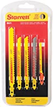 Starrett - Juego sierra calar bimetal madera (blister 5u)