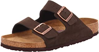Birkenstock Arizona Sfb, Men's Open Toe Sandals, Brown (Marron Mocca Marron Mocca), 7.5 UK (41 EU)