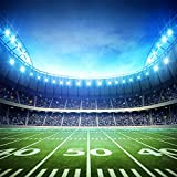 HUAYI Football Field Backdrop Newborn Photography Props Photography Background Baby Photo Studio Props 10x10ft YJ-024